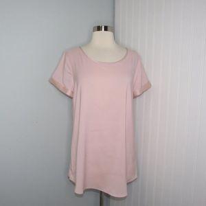 Express   Light Pink Top